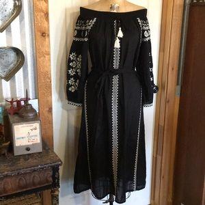 Mango boho dress